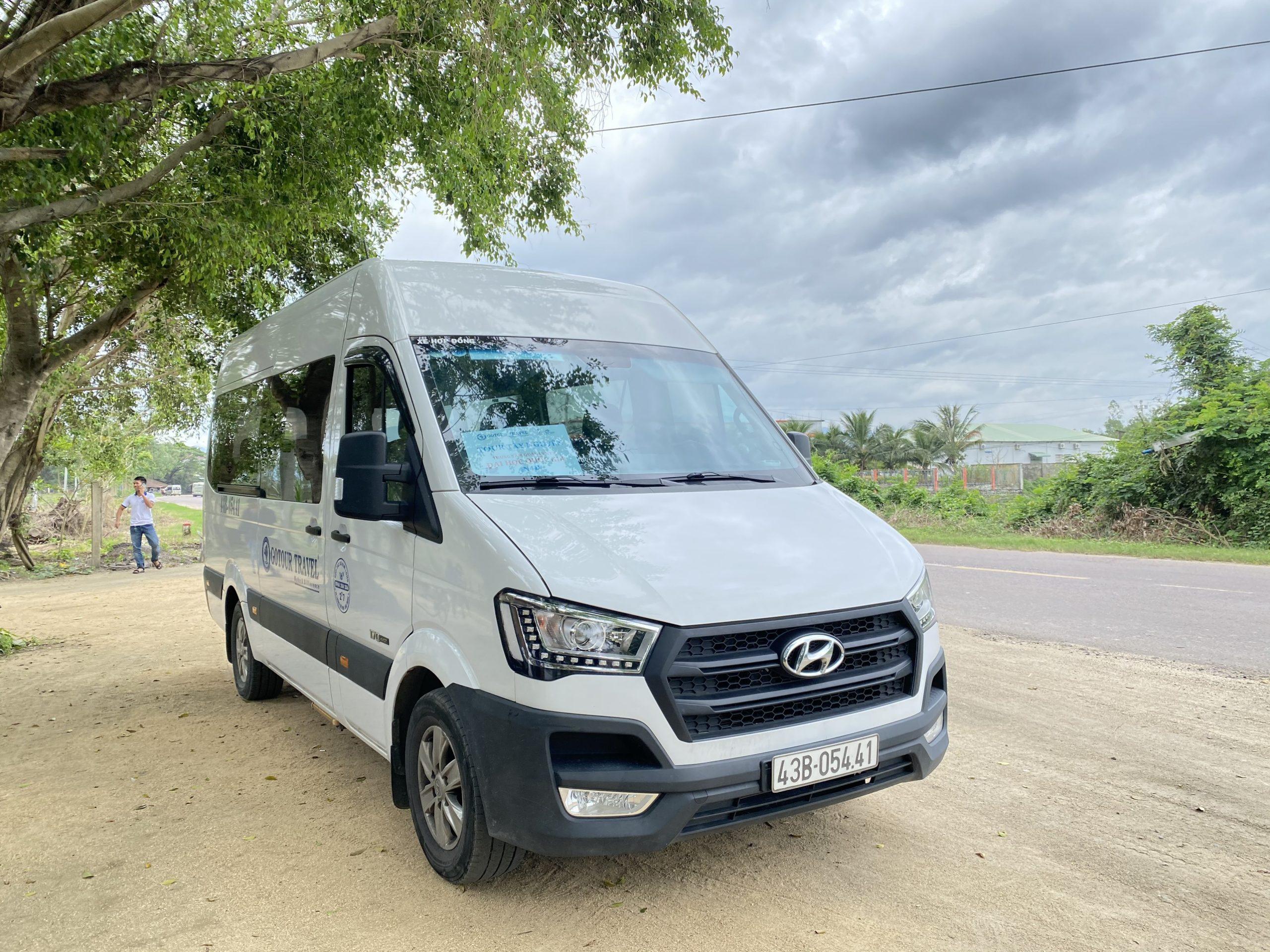 Thuê xe 16 chỗ tại Buôn Ma Thuột – Đắk Lắk